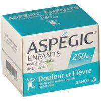 Aspegic Enfants 250, Poudre Pour Solution Buvable En Sachet-dose à Saint-Vallier