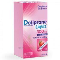 Dolipraneliquiz 300 mg Suspension buvable en sachet sans sucre édulcorée au maltitol liquide et au sorbitol B/12 à Saint-Vallier