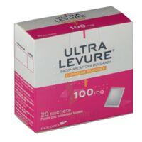ULTRA-LEVURE 100 mg Poudre pour suspension buvable en sachet B/20 à Saint-Vallier
