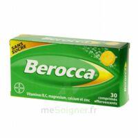 Berocca Comprimés effervescents sans sucre T/30 à Saint-Vallier