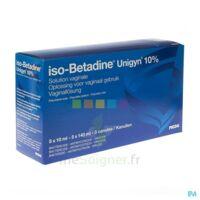Betadine 10 %, Solution Vaginale En Récipient Unidose à Saint-Vallier