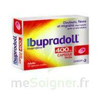 IBUPRADOLL 400 mg Caps molle Plq/10 à Saint-Vallier