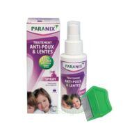 Paranix Solution antipoux Huiles essentielles 100ml+peigne à Saint-Vallier