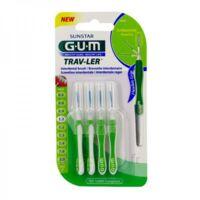 Gum Trav - Ler, 1,1 Mm, Manche Vert , Blister 4 à Saint-Vallier