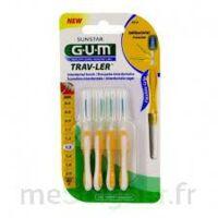 Gum Trav - Ler, 1,3 Mm, Manche Jaune , Blister 4 à Saint-Vallier