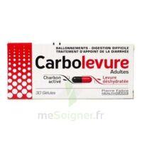 Carbolevure Gélules Adulte Plq/30 à Saint-Vallier