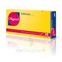 Oligosol Lithium Solution Buvable En Ampoule Ou En Récipient Unidose 28amp/2ml à Saint-Vallier