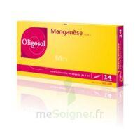 Oligosol Manganèse Solution buvable en ampoule 14Amp/2ml à Saint-Vallier