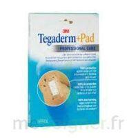 Tegaderm + Pad, 5 Cm X 7 Cm , Bt 10 à Saint-Vallier