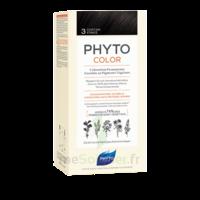 Phytocolor Kit Coloration Permanente 3 Châtain Foncé à Saint-Vallier