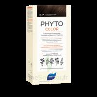Phytocolor Kit Coloration Permanente 5.7 Châtain Clair Marron à Saint-Vallier