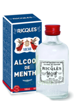 Ricqles 80° Alcool de menthe 100ml à Saint-Vallier