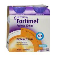 Fortimel Protein Nutriment Caramel 4 Bouteilles/200ml à Saint-Vallier