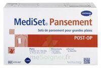 Mediset® Set De Pansement Post Op Avec Coupe-fil Pour Grandes Plaies - Boîte De 3 Soins à Saint-Vallier