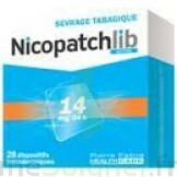 Nicopatchlib 14 Mg/24 H Dispositifs Transdermiques B/28 à Saint-Vallier