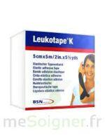 Leukotape K Sparadrap Noir 5cmx5m à Saint-Vallier