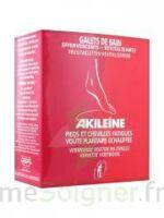 Akileïne Soins Rouges Galet De Bain Revitalisant 6x20g à Saint-Vallier