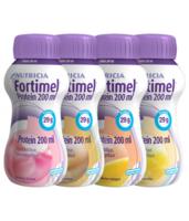 Fortimel Protein Nutriment Multi Saveurs Caramel/vanille/fraise/mangue 4 Bouteilles/200ml à Saint-Vallier