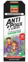 Cinq sur Cinq Natura Shampooing anti-poux lentes lavande 100ml à Saint-Vallier