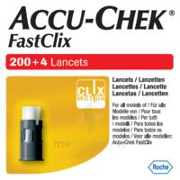 Accu-chek Fastclix Lancettes B/204 à Saint-Vallier