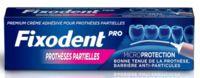 Fixodent Pro Crème Adhésive Pour Prothèse Partielle T/40g à Saint-Vallier