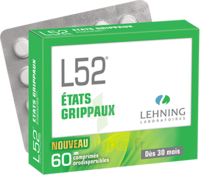 Lehning L52 Comprimés Orodispersibles Plq Pvc/pvdc/alu/60 à Saint-Vallier