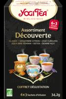 Yogi Tea Tisane Assortiment Découverte Bio 18 Sachets/1,9g à Saint-Vallier