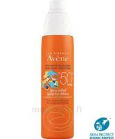 Avène Eau Thermale Solaire Spray Enfant 50+ 200ml à Saint-Vallier