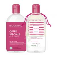 Crealine H2o Solution Micellaire Sans Parfum Nettoyante Apaisante 2fl/500ml+2 Cottons Lavables Offerts à Saint-Vallier
