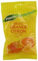 Pimelia Bonbons Sans Sucre Délice Orange Citron Sachet/100g à Saint-Vallier