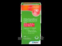 Chlorhexidine/chlorobutanol Mylan 0,5 Ml/0,5 G Pour 100 Ml, Solution Pour Bain De Bouche En Flacon à Saint-Vallier