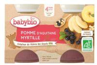 BABYBIO Pot Pomme Myrtille à Saint-Vallier