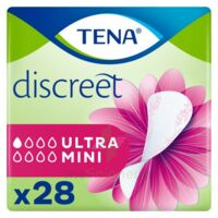 Tena Discreet Protection Urinaire Ultra Mini Sachet/28 à Saint-Vallier