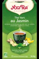 Yogi Tea Thé Vert Jasmin Bio 17 Sachets/1,8g à Saint-Vallier