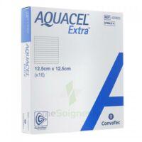 Aquacel Extra Pansement Hydrofiber Stérile 12,5x12,5cm B/16 à Saint-Vallier