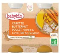 BABYBIO Pot Carotte Courge Butternut Poulet Riz à Saint-Vallier