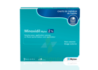 MINOXIDIL MYLAN 2 %, solution pour application cutanée à Saint-Vallier