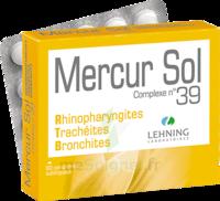Lehning Mercur Sol Complexe N°39 Comprimés Sublinguals B/60 à Saint-Vallier