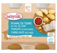 Babynat Pot Pomme De Terre Tomate Cabillaud à Saint-Vallier