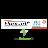 Fluocaril Kids Dentifrice Fraise 0-6 Ans T/50ml à Saint-Vallier