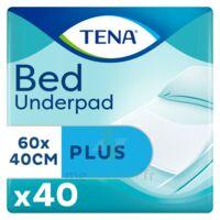 Tena Bed Plus Alèze Intraversable Usage Unique 40x60cm Sachet/40 à Saint-Vallier