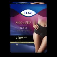 Tena Silhouette Plus Slip Absorbant Noir L Sachet/9 à Saint-Vallier
