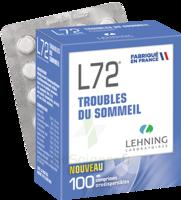 Lehning L72 Comprimés Orodispersibles Plq Pvc/pvdc/alu/100 à Saint-Vallier