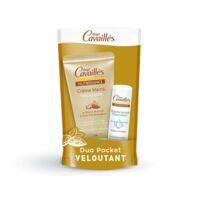 Rogé Cavaillès Nutrissance Pocket Crème Mains Douceur + Baume Lèvres Réparateur 30ml + 5,5g Edition Limitée à Saint-Vallier