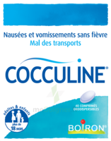 Boiron Cocculine Comprimés Orodispersibles B/40 à Saint-Vallier