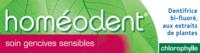 Boiron Homéodent Soin Gencives Sensibles Pâte Dentifrice ChlorophylleT/75ml à Saint-Vallier